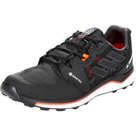 adidas TERREX Agravic GTX Zapatillas Running Hombre, core black/crystal white/solar red